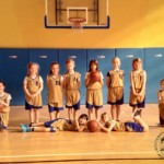 Foto - zespół koszykarek SP7