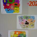 Galeria prac uczniów klas od 1 do 3.