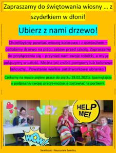 Plakat do akcji