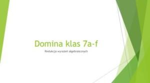 Domina matematyczne 7af