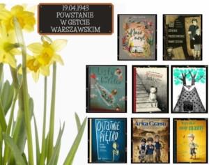 Plakat - powstanie w getcie warszawskim - lektury