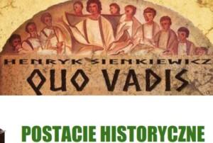 Prezentacja - Postacie historyczne w Quo Vadis
